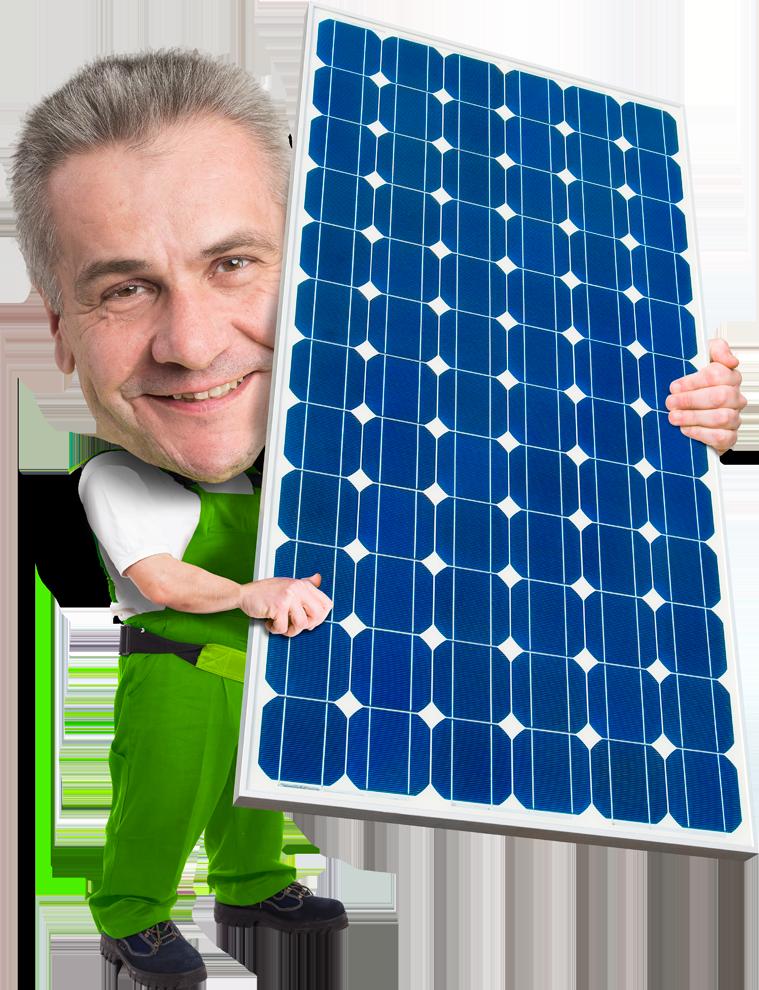 Sauberer Strom hausgemacht